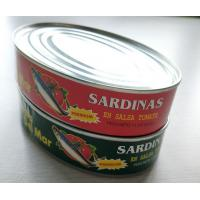 Buy cheap Mackerel Fishes Cans and Sardines Canned in 425g Oval tins from China from wholesalers