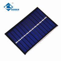 China 0.65W 6V cheapest solar panel photovoltaic ZW-9060 Poly Silicon solar cell phone charger for solar power novelties on sale