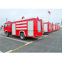 Quality Emergency Rescue Fire Fighting Truck With Fire Pump 4000Liters Water Tank wholesale