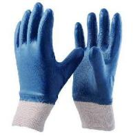 China Nitrile Glove Fully Coated Cotton Jersey Liner G5000F on sale