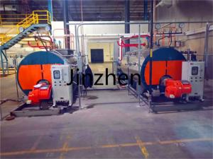 China Industrial Horizontal Fire Tube Natural Gas Diesel Heavy Oil Lpg Fired Steam Boiler for Food Industry on sale