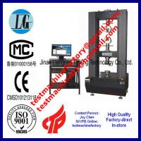 Quality 30t universal tensile tester for tensile test results and tensile test specimen wholesale