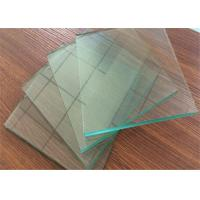 Quality Professional Clear Sheet Glass 1 mm ~ 2.7mm Thickness For Picture Frame wholesale