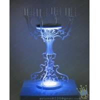 Quality CH (2) clear Acrylic long stem candle holder wholesale