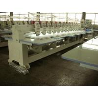 Quality Compact Cap / Flat Embroidery Machine With Automatic Color Changing wholesale
