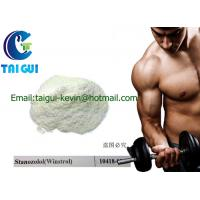 China Oral Safety Winstrol / Stanozolol Muscle Growth Anabolic Steroids CAS 10418-03-8 on sale