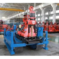 Quality Spindle Rotary Crawler Drilling Rig High Torque 2760 N.m  More Speed Grade wholesale