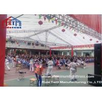 China Light Weight And Strong Aluminum Lighting Truss For Exhibition / Wedding on sale
