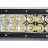 Quality 36W 60W Vehicle Off Road LED Light Bar With Epistar Chips 12v  24v 7.5Inch 12 LED Worl Light wholesale