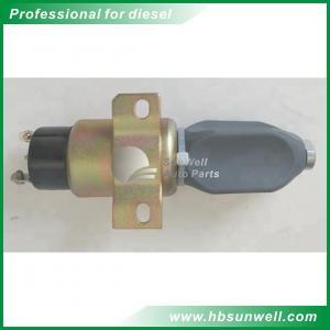 Quality 6BT5.9 Diesel Engine Stop Solenoid Valve Shut Off 3864274 High Performance wholesale