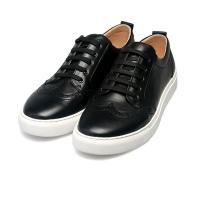 China high quality black lace-up shoes cowhide sneakers brand couples sneakers lovers sneakers designer sneakers BS-B7 on sale