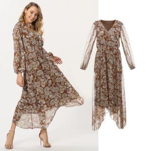 China Fahion New Beach Dress Women Long Chiffon Dress on sale
