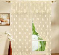 China Warp Knitting lace polyester panel on sale
