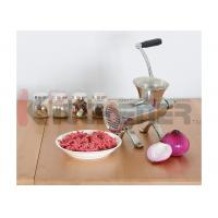 Cheap Hand Powered Meat Grinder For Home Use , Commercial Meat Mincer Machine Multi for sale