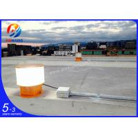 Quality AH-MI/A Aircraft warning lights with photocell, ICAO Type flashing aviation obstruction lightings wholesale