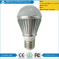China China manufacturer E27 led bulb lamp 5W Rechargeable solar led bulb light on sale