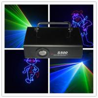 Quality DMX512 500MW Colorful RGB Animation Laser Lighting Using Night Clubs wholesale