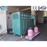 Quality R410A / R134A Refrigerant Charging Machine from 400L-800L tank to cylinders wholesale