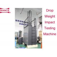 Quality ISO3127 Standard Drop Weight Impact Test Machine Adjustable Workbench wholesale
