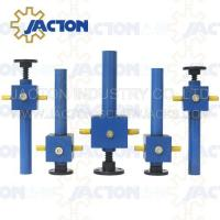 Quality Reliable and versatile JTC500 500kn worm gear screw jack lifting platform with gear box and ball screw wholesale