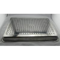 Quality Customized Size Pizza Baking Tray With Holes For Keep Dry / Containing Food wholesale