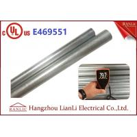 "Quality Exterior 1"" Hot Dip Galvanized Metal Electrical Conduit with UL Listed wholesale"