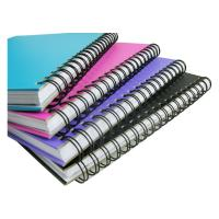 wire books produced by PWB580 wire binding machine