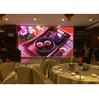 China Colorful Large Indoor Advertising LED Display Screen Fixed Installation For Hotel Stage on sale