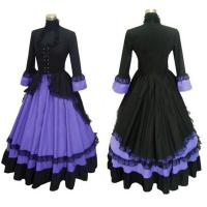 Quality Medieval Dress Wholesale XXS to XXXL Custom Made Renaissance Medieval Lolita Gothic Dress Cosplay Costume wholesale
