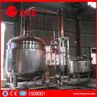 Quality 2350 Gallon Steam Hearting Copper Pot Still With A Gin Basket wholesale