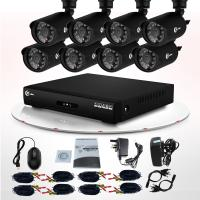 Quality Video Surveillance Infrared LED CCTV Outdoor Weatherproof 700TVL CCTV Camera DVR Kit wholesale