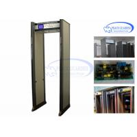 Quality Public Transportation Door Frame Metal Detector / Metal Detector Walk Through 24 Zones wholesale