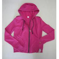 Quality new style of fleece ladies zip hoody wholesale