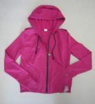 Quality new style of fleece ladies zip hoody wholesale