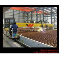 Quality Gantry Type Plasma CNC Cutting Machine Japanese Panasonic For Steel Industry High Speed wholesale