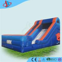 Quality Funny Inflatable Dry Slides Inflatable Bouncer Slide Waterproof For Kids Play wholesale