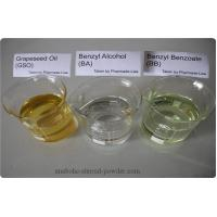 China USP Standard Injectable Anabolic Steroids Benzyl Alcohol BA Benzyl Benzoate BB Grapeseed Oil on sale