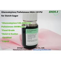 Quality Pullulanase Enzyme 600B U / ml , Digestive Enzymes Amylase For Starch Suger Industry wholesale