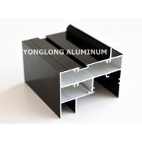Quality High Hardness Curtain Wall Aluminum Profiles Light Easy Processing / Installation wholesale