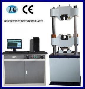 Quality WEW-100B Computer Screen Hydraulic Universal Testing Machine wholesale