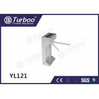 Quality Tailing Gating Vertical Semi - Tripod Turnstile Gate With Access Control System wholesale