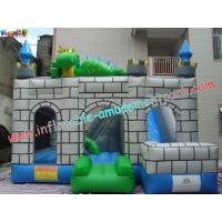 Quality Custom Inflatable Bouncer Slide Commercial Grade With PVC Tarpaulin wholesale