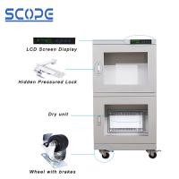 Buy cheap Ash White Color Dry Humidity Cabinet Ultra Low Humidity Full Modular Design from wholesalers