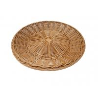 Quality Vegetable Weaving Oval Poly Rattan Tray Storage Recyclable wholesale