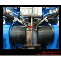 Quality Automatic H Beam Assembling Welding Straightening Line for H Beam Making wholesale