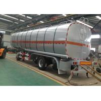 Quality SINO HOWO Oil Tank Trailer 40000 45000 50000 60000 Liters Dimensions 3 Axle wholesale