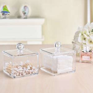 Quality New Style Vanity Container Aluminum Acrylic Makeup Storage Box wholesale