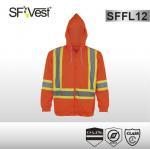 Quality CSA Z96-09 standard Hi-viz fleece hoody sweatshirt reflective clothing for workwear wholesale