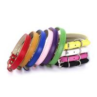 China Multi Color Dog Collars And Leashes Different Size With Durable No Pull Buckle on sale