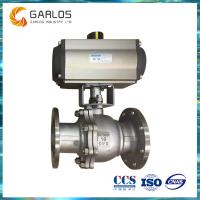 Quality Q41F Stainless steel pneumatic floating Ball Valve wholesale